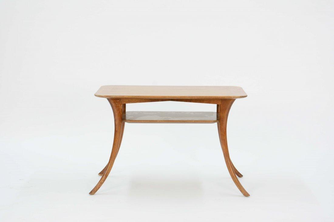T.H. Robsjohn-Gibbings Saber Lamp Table for Widdicomb