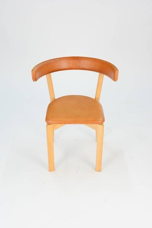 3 Jorgen Gammelgaard Surround Back Dining Chairs