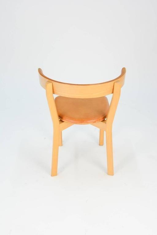 3 Jorgen Gammelgaard Surround Back Dining Chairs - 3