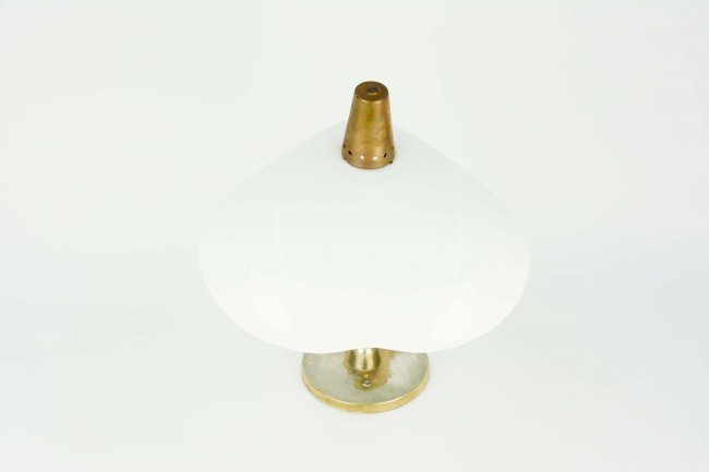 A Handsome Desk Lamp with a Heart Shaped Shade - 2