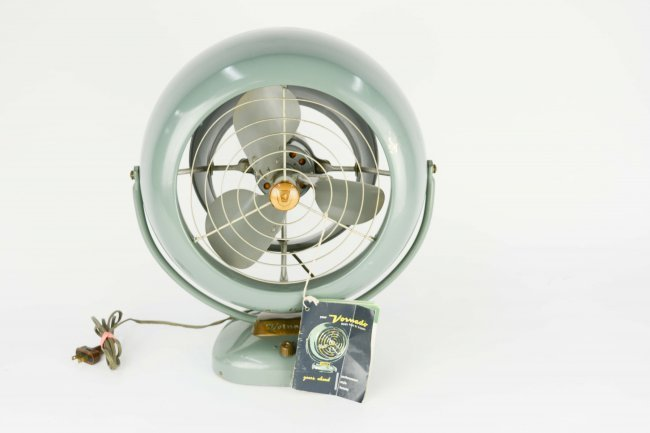 1950's Vintage Vorando Wall or Desk Fan
