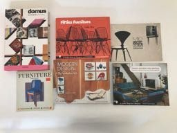 Six Mid Century Modern design books