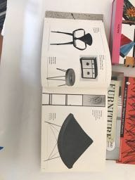 Six Mid Century Modern design books - 2