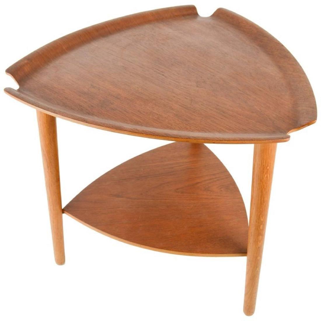 Hans Olsen Lamp Table for Bramin, Denmark, 1950
