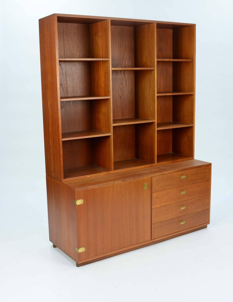 Peter Lovig Nielsen Bookcase and Credenza Wall Unit - 3