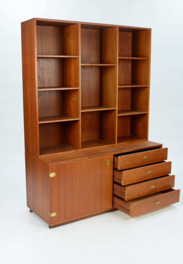 Peter Lovig Nielsen Bookcase and Credenza Wall Unit - 5