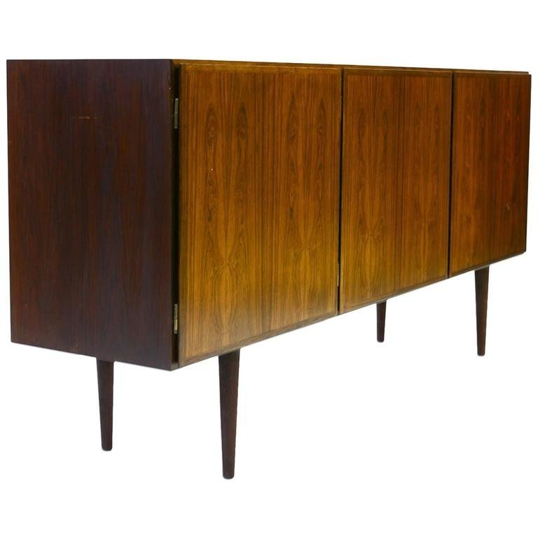 A  Finely-Grained Mid-Century Rosewood Gunni