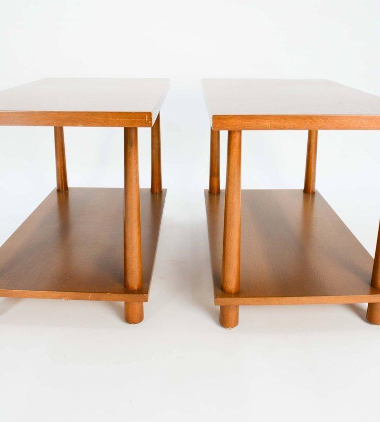 T.H.Robsjohn-Gibbings Reverse Tapper Side Tables - 3