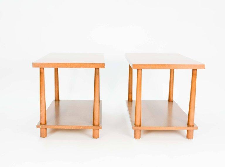 T.H.Robsjohn-Gibbings Reverse Tapper Side Tables - 4