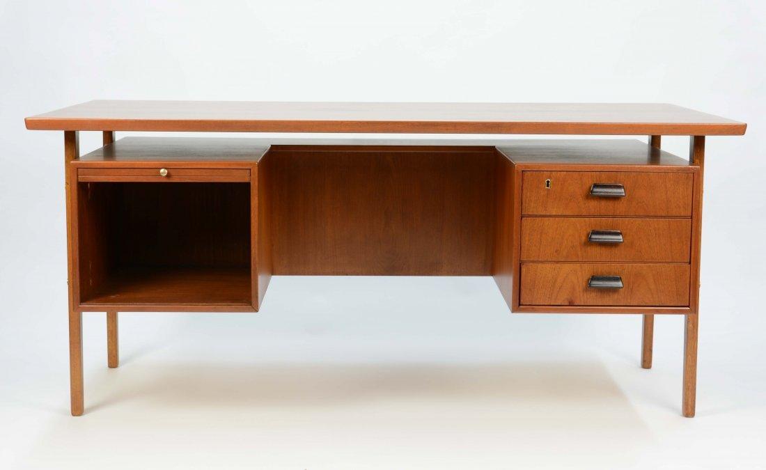 Wonderful Executive Desk by Torben Strandgaard for