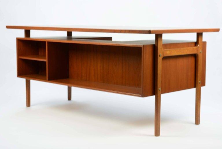 Wonderful Executive Desk by Torben Strandgaard for - 2