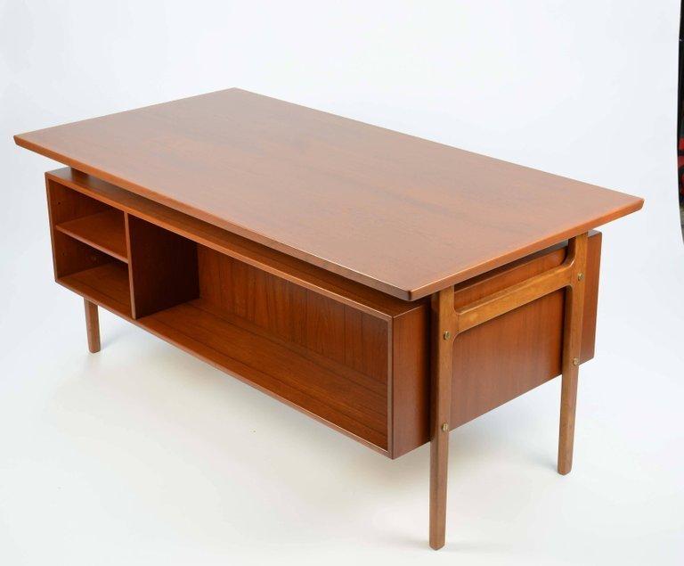 Wonderful Executive Desk by Torben Strandgaard for - 3