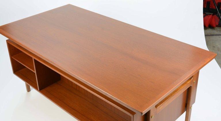 Wonderful Executive Desk by Torben Strandgaard for - 4