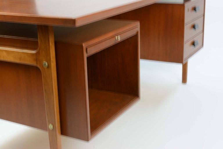 Wonderful Executive Desk by Torben Strandgaard for - 6
