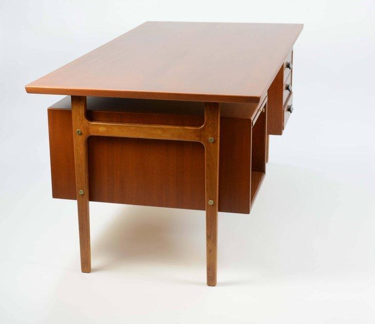 Wonderful Executive Desk by Torben Strandgaard for - 8