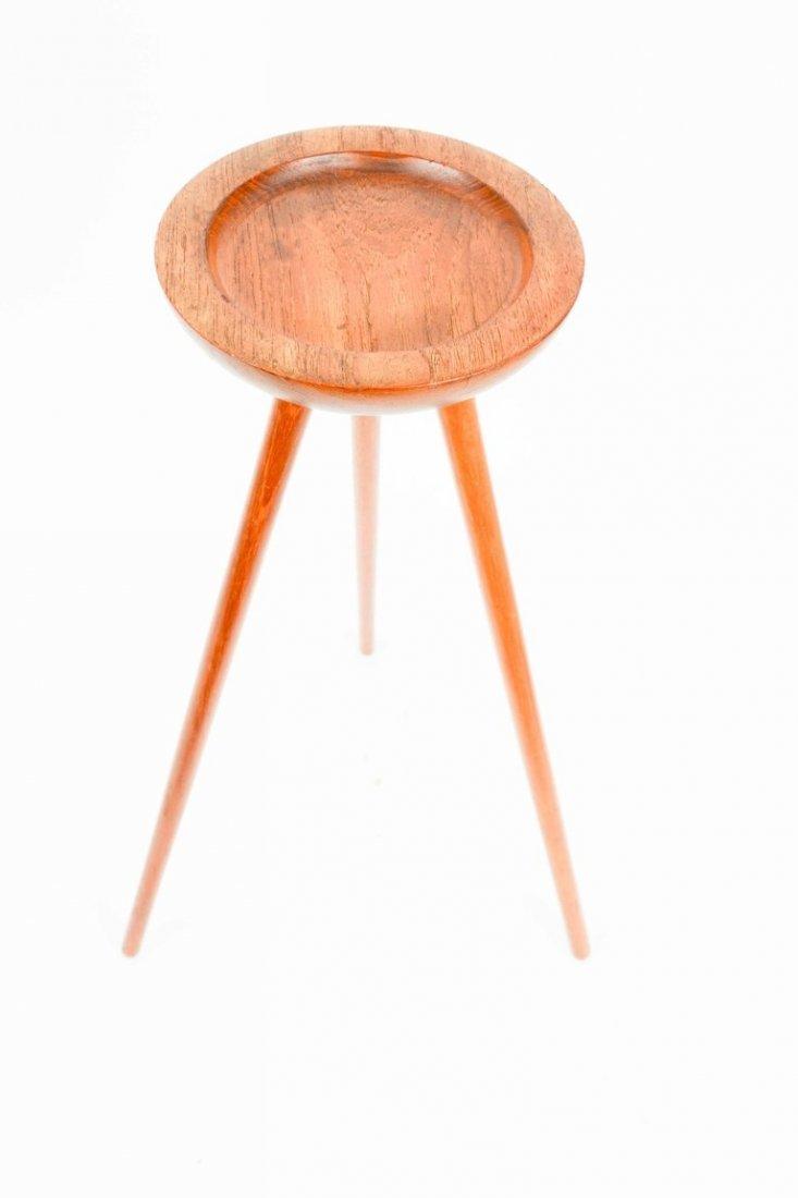 Tripod, Single Cocktail Table from Denmark in Walnut - 3