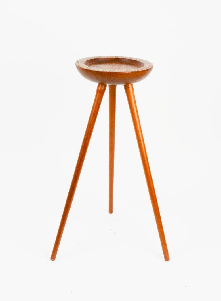 Tripod, Single Cocktail Table from Denmark in Walnut - 5
