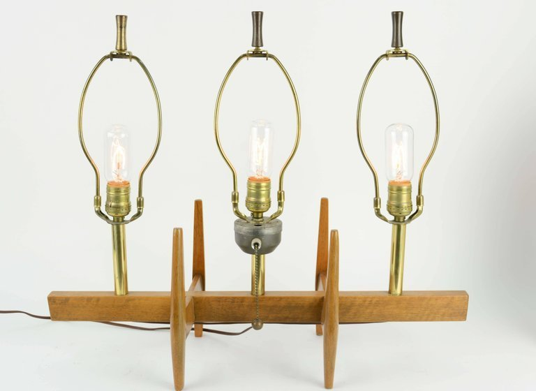 Triptych Table Lamp by Moss Lighting of San Francisco - 5
