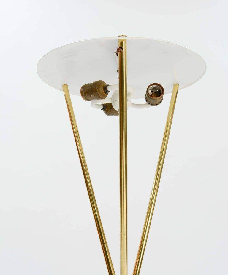 Elegant T.H. Robsjohn-Gibbings Tripod Floor Lamp by - 4