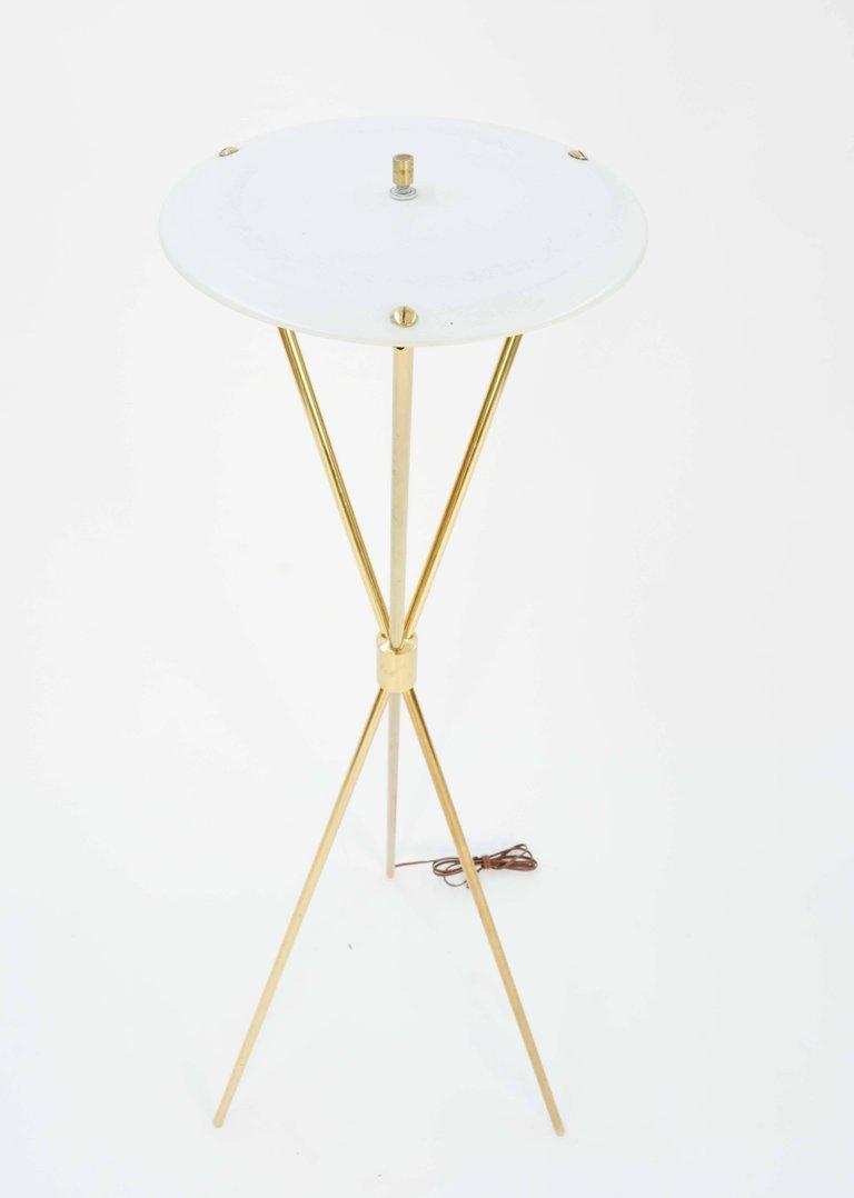 Elegant T.H. Robsjohn-Gibbings Tripod Floor Lamp by - 5