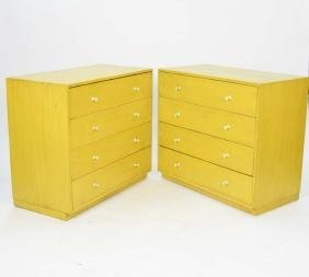 Pair of George Nelson Herman Miller Chest of Drawers