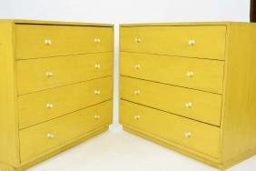 Pair of George Nelson Herman Miller Chest of Drawers - 2
