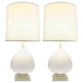 Handblown Italian Memphis Glass Lamps after Max Ingrand