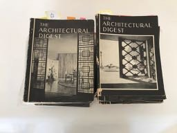 1940's through 1960's Architectural Digest (36)
