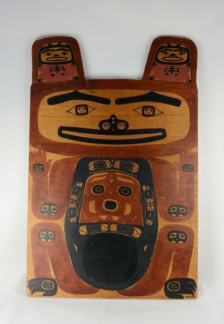 Jim Jacobs (1846-1941, Tlingit, Alaskan Grizzy Bear Sig