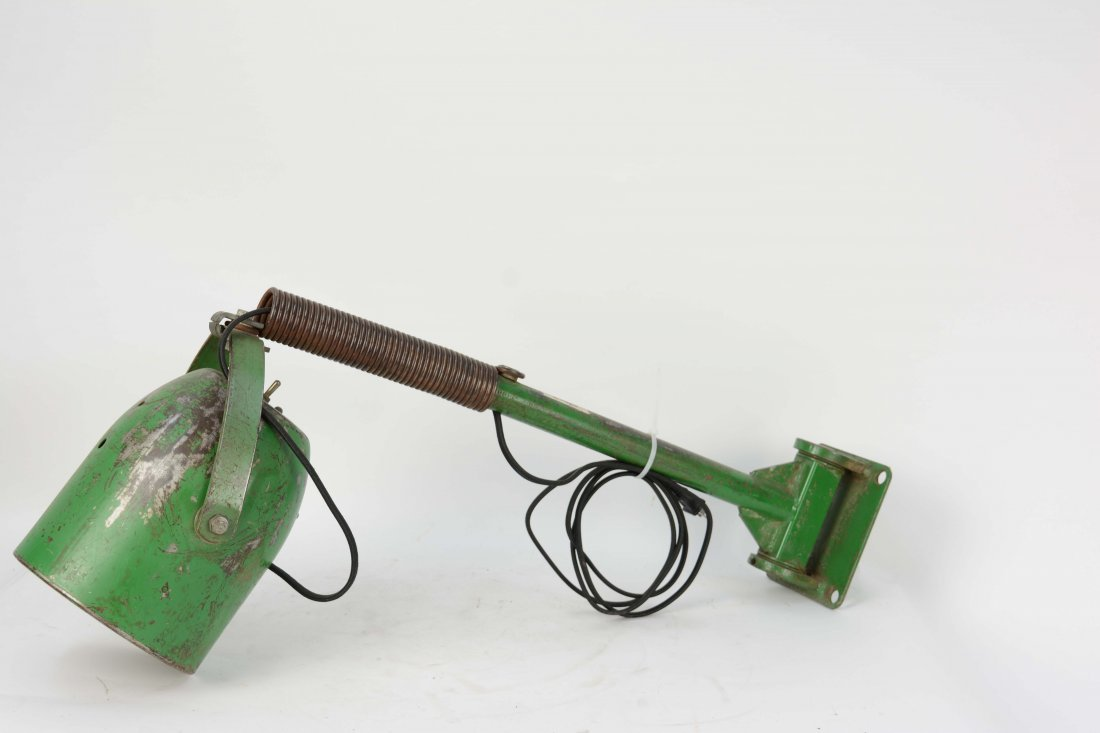 A Pair of Industrial Arm Wall Lamps. - 3