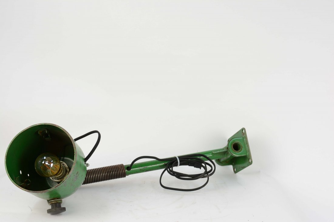 A Pair of Industrial Arm Wall Lamps. - 5