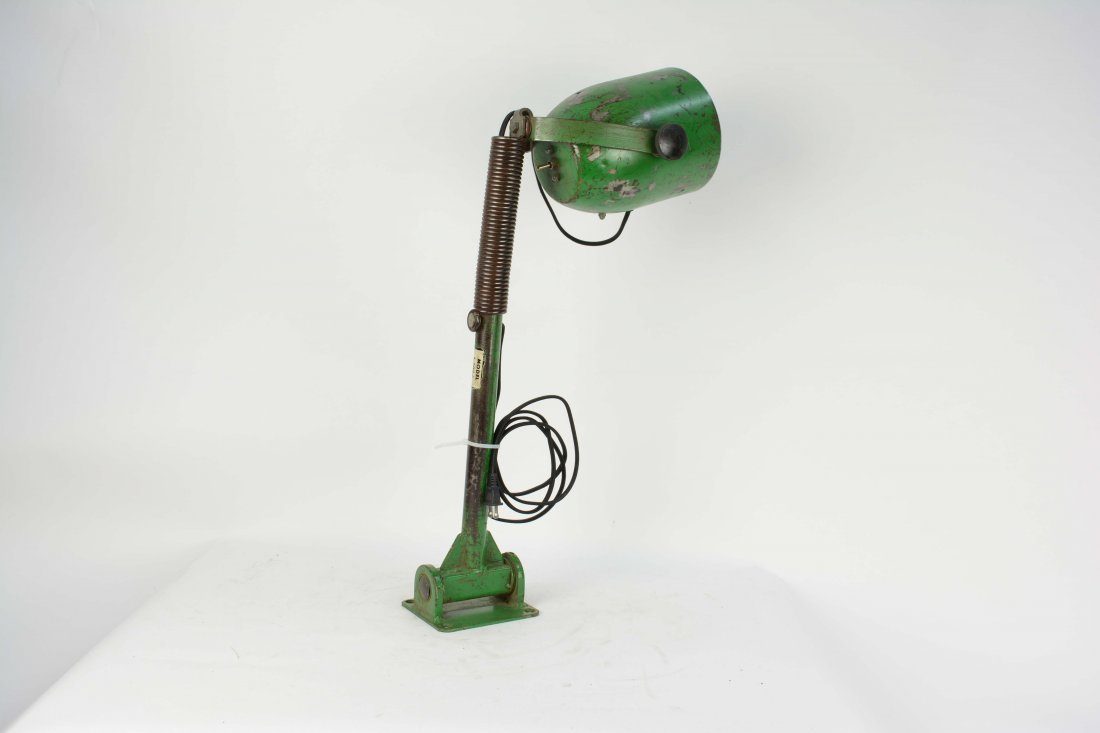 A Pair of Industrial Arm Wall Lamps. - 7