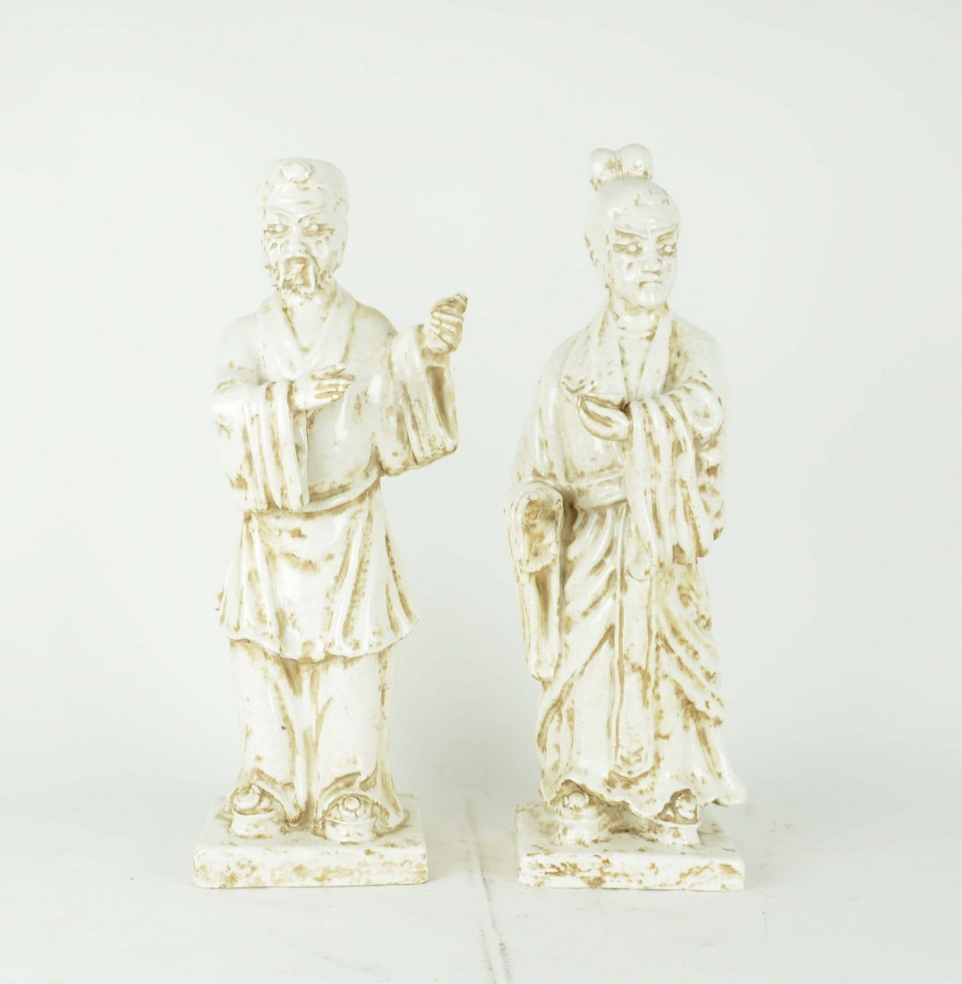 Ceramic figures by Italian designer Marcello Fantoni