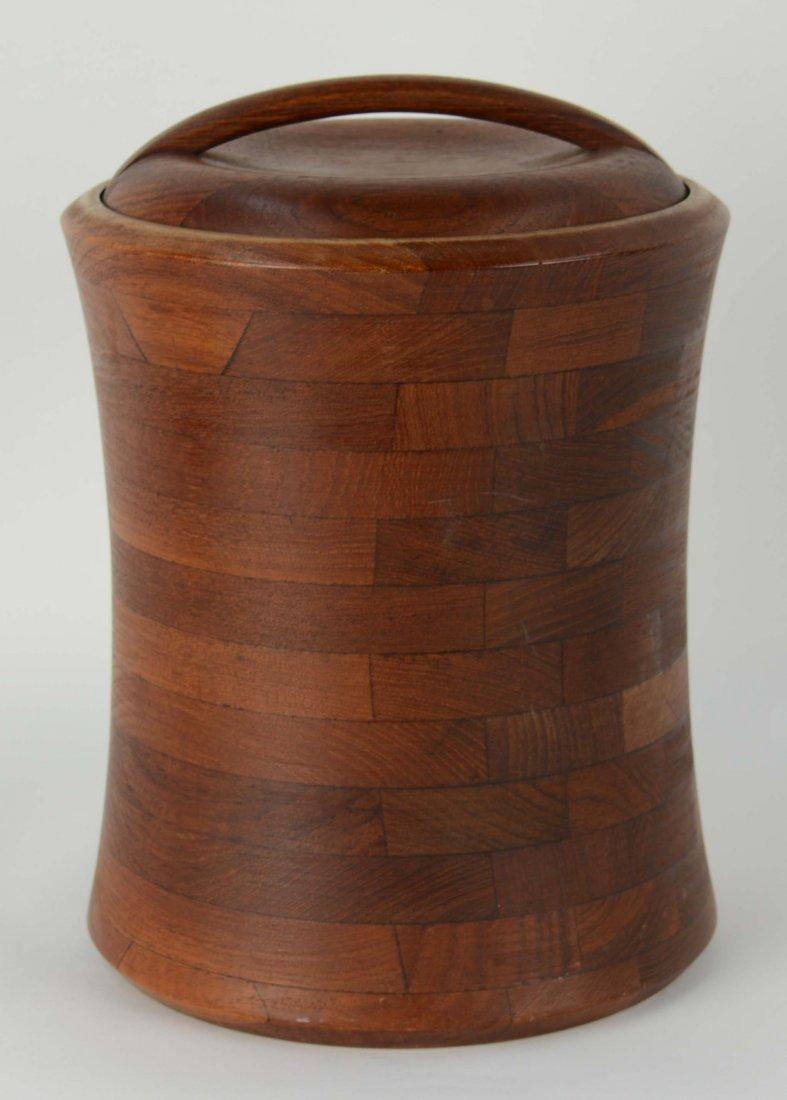 Teak Ice Bucket by Digsmed of Denmark