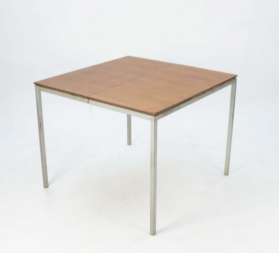 Florence Knoll Indoor Outside Mahogany Expendable Table