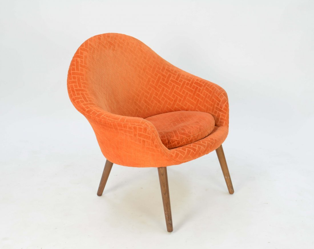 Curved Club Chair After Nanna Diztel