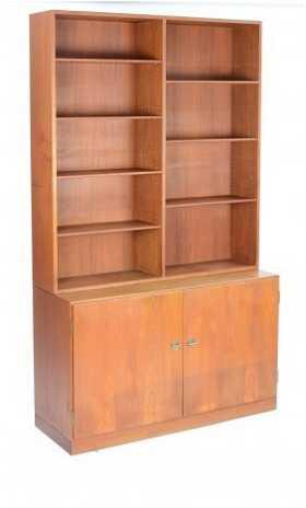 borge mogensen teak bookcase cabinet - Teak Bookshelves