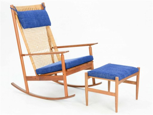 finest selection 8cad6 bea91 Hans Olsen Rocking Chair for Dux of Denmark.
