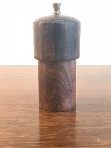 A Petit Rosewood Pepper MIlls from Denmark