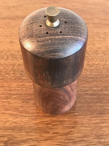 A Petit Rosewood Pepper MIlls from Denmark - 2
