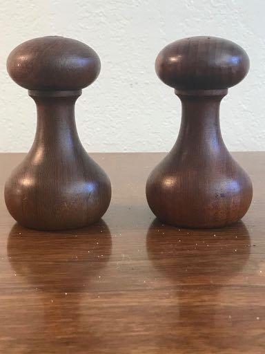 Pair of Digsmed of Denmark Barbell Salt and Pepper Set