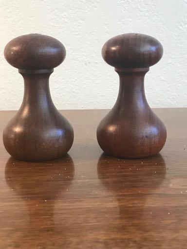 Pair of Digsmed of Denmark Barbell Salt and Pepper Set - 2