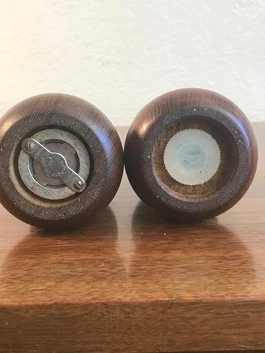 Pair of Digsmed of Denmark Barbell Salt and Pepper Set - 4