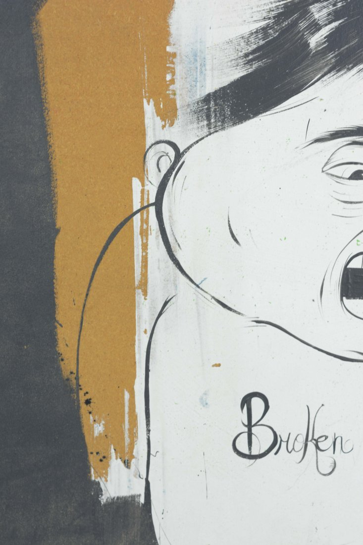 1980's Graffiti Artist Broken after Barry McGee - 5