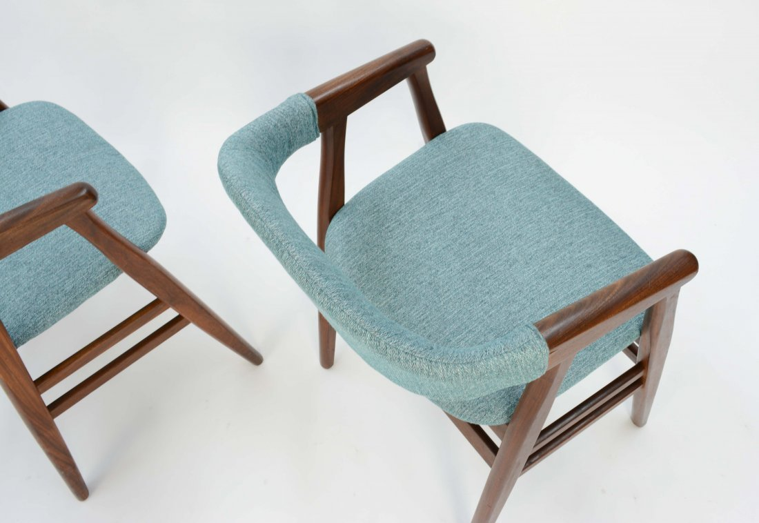 A set of 6 Danish Arm Chairs after Kai Kristansen - 6