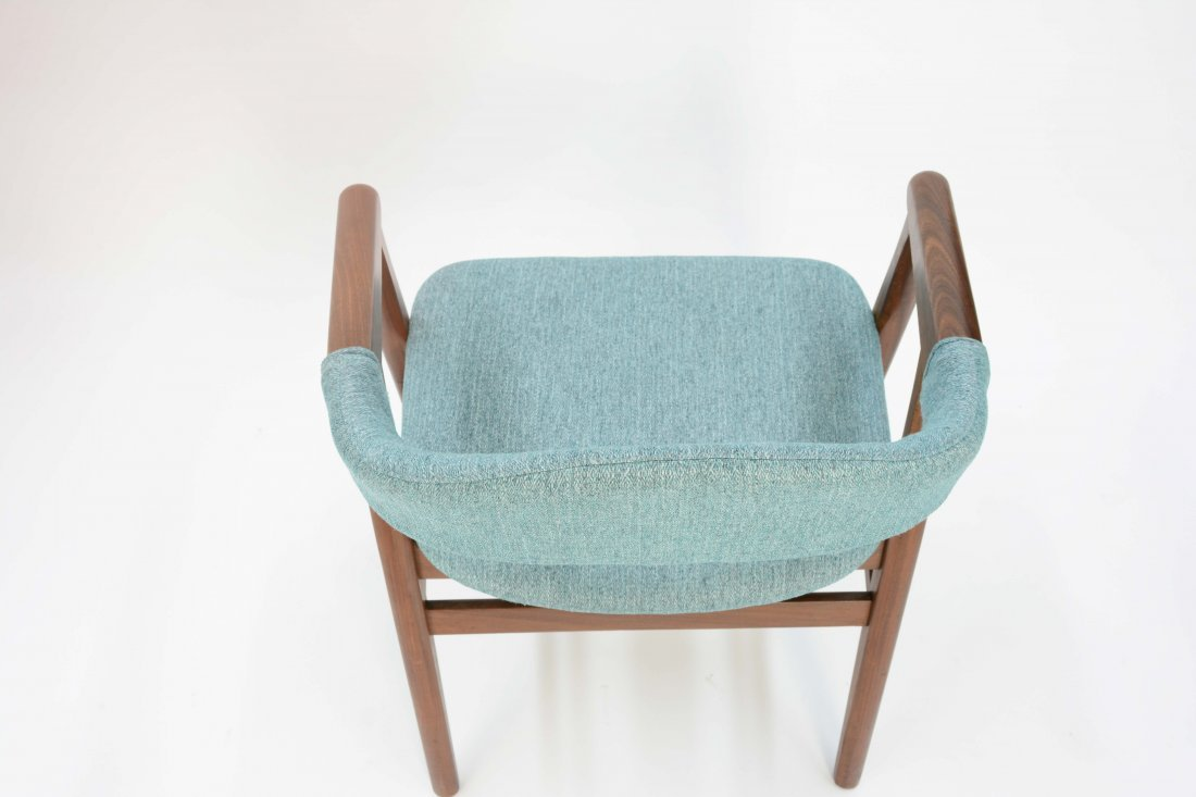 A set of 6 Danish Arm Chairs after Kai Kristansen - 7