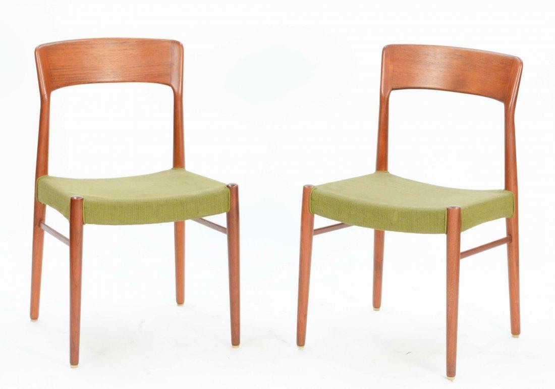 6  Niels Otto Møller Teak Dining Chairs for Jl Møller - 2