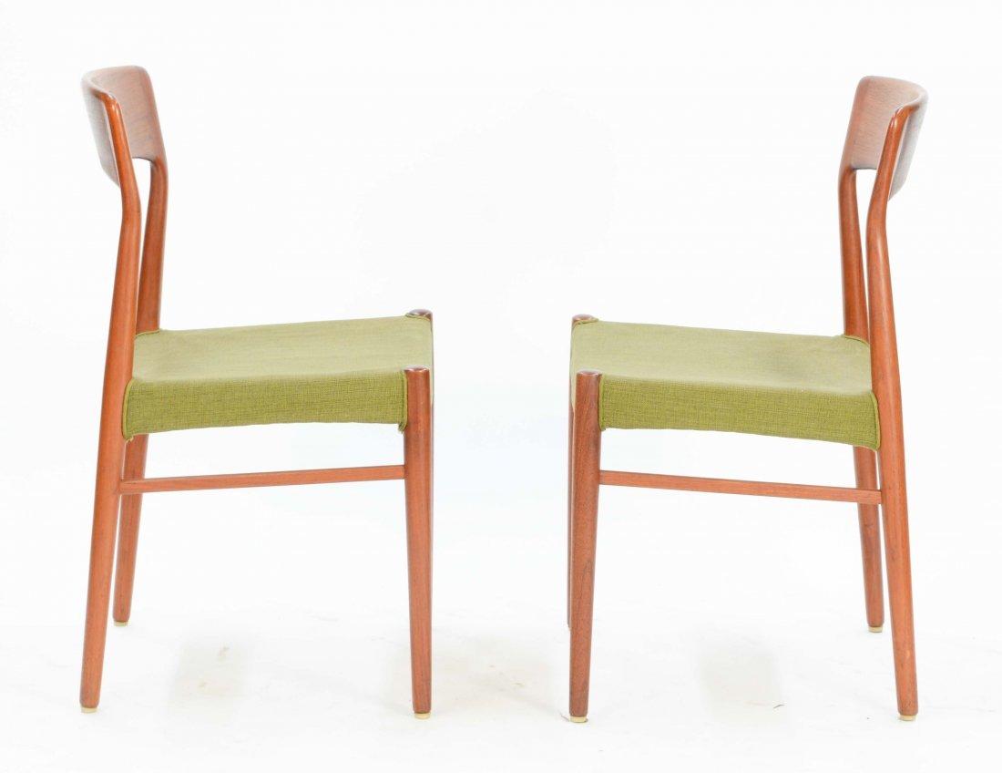 6  Niels Otto Møller Teak Dining Chairs for Jl Møller - 3
