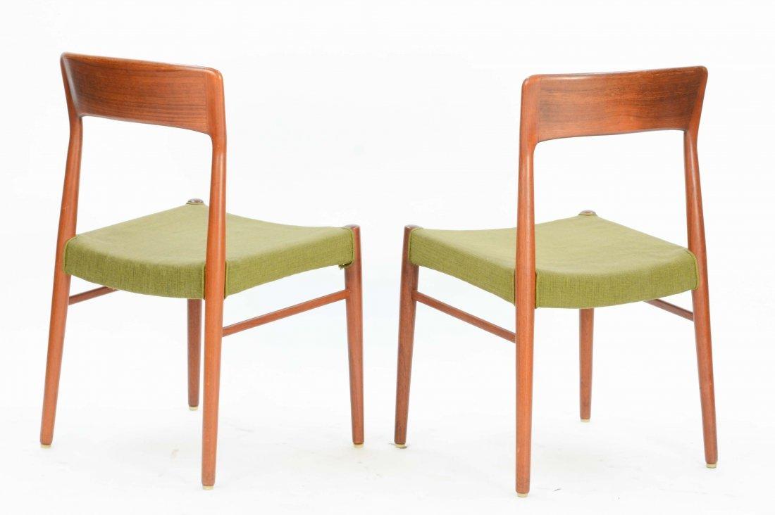 6  Niels Otto Møller Teak Dining Chairs for Jl Møller - 4