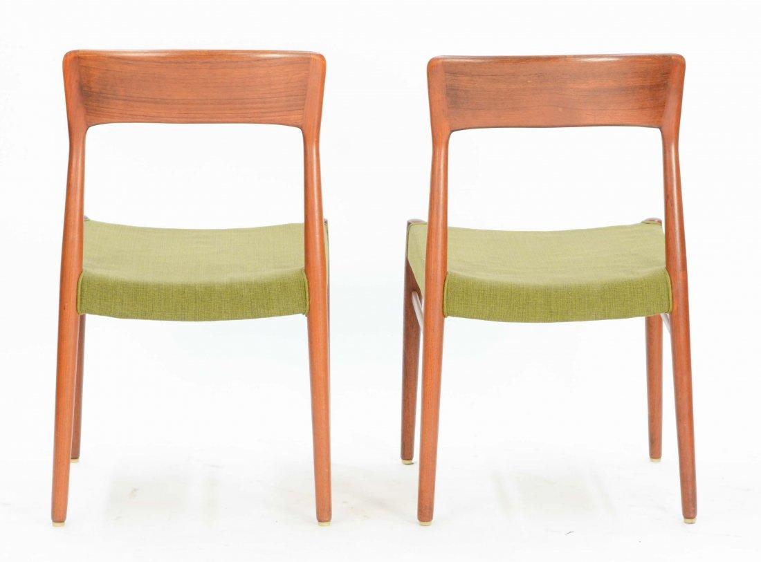 6  Niels Otto Møller Teak Dining Chairs for Jl Møller - 5